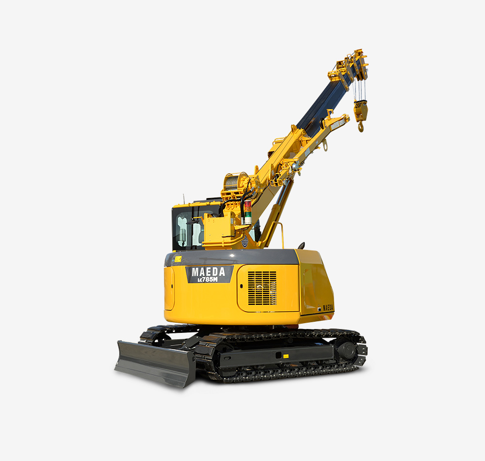 Maeda Mini Cranes : Lc m crawler crane maeda mini cranes